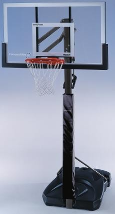 "SO Lifetime 72006 Competition Portable 54"" Hoop Goal Basketball System"