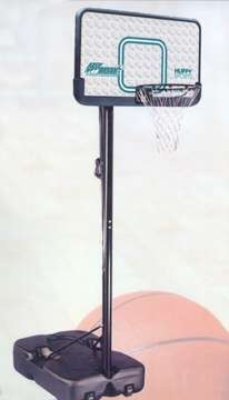 SO HUFFY Portable Basketball System Hoop Goal