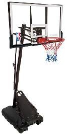 "SO 74307 Spalding Huffy 52"" Portable Pro Slam Basketball System"