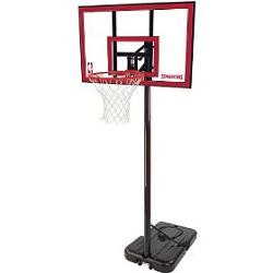"Spalding Portable Basketball Hoops 77351 44"" Polycarbonate Backboard"