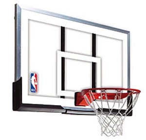 79564 Spalding Backboard and Rim Combo 54-in Acrylic