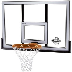 "Lifetime Basketball Backboard Rim 79910 50"" Polycarbonate Backboard"