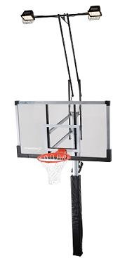 SO Lifetime 79963 Competition 60 in Acrylic Basketball Hoop + Lighting