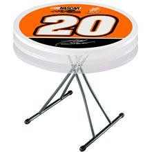 "SO Tony Stewart 80002 Lifetime 30"" White Personal Round Folding Table"