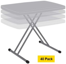 Lifetime Personal Tables - 80057 Putty Color 30x20 inch Top