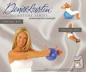 SO Denise Austin w/ Video Pilates Complete Body Toning Kit