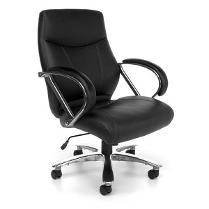 OFM Avenger Series 811-LX Leather Big and Tall Office Chair