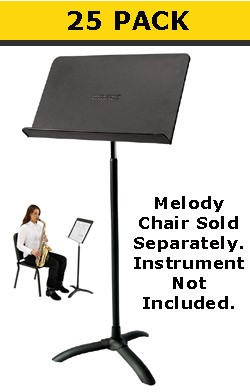 National Public Seating 82 ms (25 Pack) Music Stands