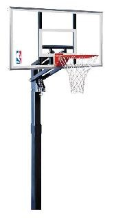 SO Spalding Inground Basketball Hoop - 60 in. Acrylic Backboard Goal