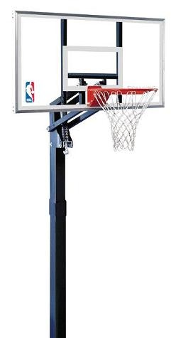 SO Spalding Inground Basketball Goal - 54 in. Glass Backboard System