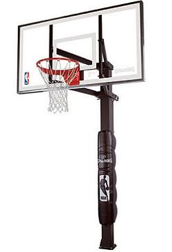 Spalding Inground Basketball Hoops - 88880G 72 in. Glass Backboard