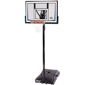 Lifetime Portable Basketball Hoops 90083 50-inch Backboard Goal System