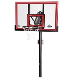 "Lifetime In-Ground Basketball Hoop 90191 50"" Polycarbonate Backboard"