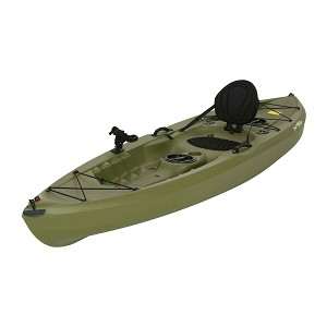 Lifetime Tamarack 90539 Olive Muskie Angler 10-foot Sit On Top Fishing Kayak