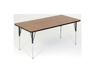 Kids Activity Table - Correll A2448 High-Pressure Laminate 24x48 Top