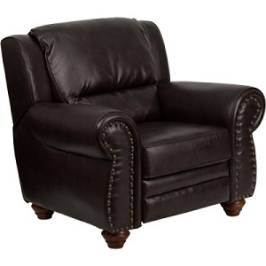 Leather Recliner - AM-9050-9070-GG 3-Position Chair