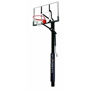 Silverback In-Ground Basketball Hoop - B5402W 60 in. Glass Backboard
