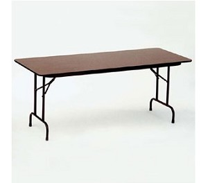 Melamine Folding Tables - Correll CF3096M 30x96 Table Top
