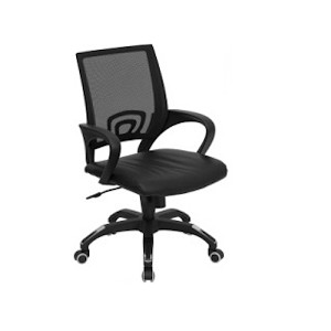 Office Chairs - CP-B176A01-GG Mesh Mid-Back Computer Chair