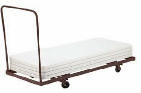 Dy3096 National Public Seating Folding Table Dolly Storage Cart