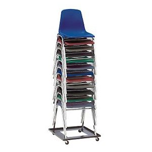 Chair Dolly National Public Seating DY81 Stacking Chair Cart