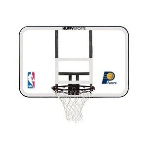 Spalding 44-in Basketball Backboard Rim Combo E79Inds Indiana Pacers
