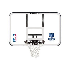 E79 Spalding Basketball Backboards Backboard Rim Combo NBA Logo Decal
