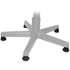 OFM Chair Glides - Pack of 5 - Replaces Casters with Plastic Feet