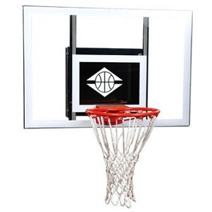 "Goalsetter Basketball MGZC030G1 MVP Wall-Mount 25x36"" Glass Backboard"