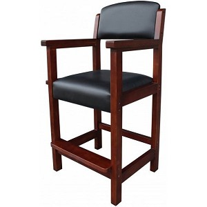 Cambridge Antique Walnut Color NG2556W Pool Spectator Chair