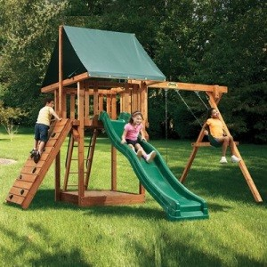 Playset - PG01W Oasis Package One Swing Set Playground