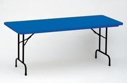 "R3060-C Correll Folding Tables Heavy-Duty Tables - 30"" x 60"" Color Top"