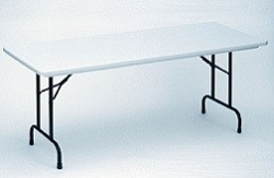 "Correll Folding Table Heavy-Duty R3072 30"" x 72"" Table Top"