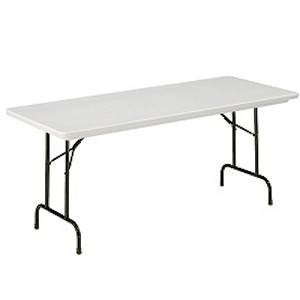 Correll Adjustable-Height Folding Tables RA3060 30 x 60 Top