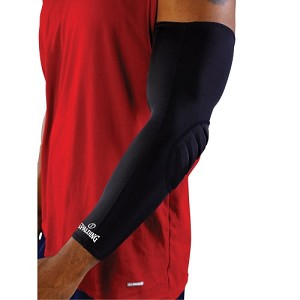Spalding Basketball Equipment SASL50M Elbow Compression Sleeve Medium