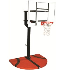 "Goalsetter Basketball Hoop SS43036G1 Junior MVP 25x36"" Glass Backboard"