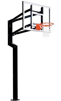 Goalsetter Basketball Hoops Fixed Height All-Star 54 in. Acrylic Goal
