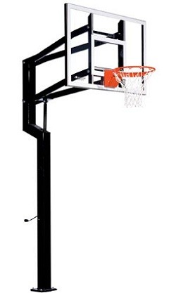 Goalsetter Basketball Hoops All-Star Internal 54 in. Acrylic Backboard