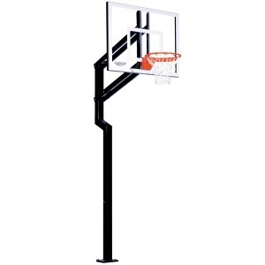 "Goalsetter Basketball Hoop Fixed-Height Champion 48"" Acrylic Backboard"