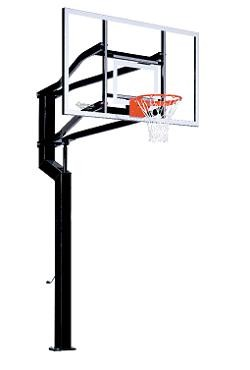Goalsetter Inground Basketball Hoop Internal MVP 72 in. Acrylic Goal