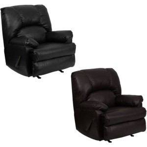 Apache Leather Recliner - WM-8500-GG Home Furniture Rocker