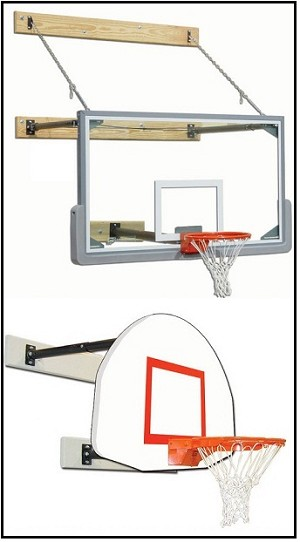 Gared Sports - Build Your Own Wall Mount Basketball Backboard System