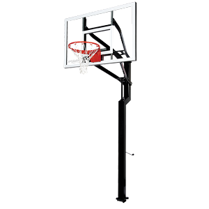 Goalsetter Basketball Hoops All-Star Internal 54 in. Glass Backboard