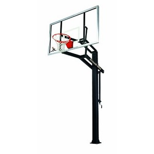 Goalrilla Basketball System - GLR GS I 72 Inch Glass Backboard Goal