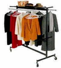 Correll C84-C Hanging Chair Cart And Coat Rack