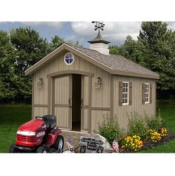 Cambridge 10x12 ft Best Barn Wood Shed Kit