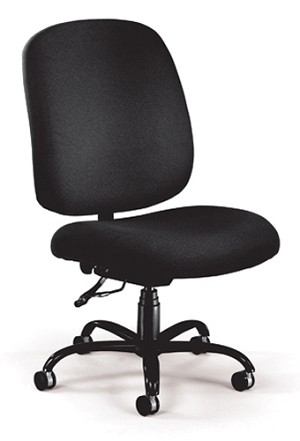 Ofm 700 Adjustable Office Fabric W Casters Big & Tall Chair