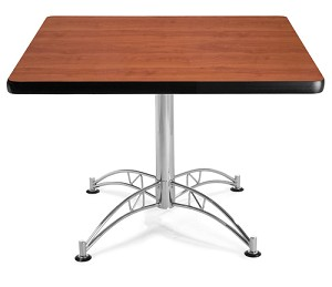 OFM Square Table 42-in Square Multi-Purpose Laminate Top Office Table