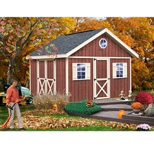 Fairview 12x12 ft Best Barns Wood Shed Barn Kit