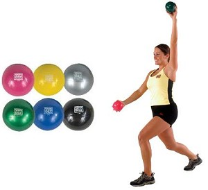 Strength Exercise Training Yoga Pilates Soft Touch Med Medicine Ball